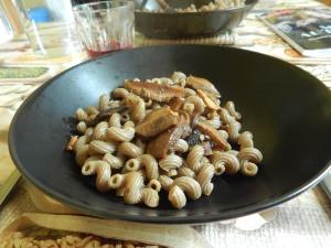 pasta funghi